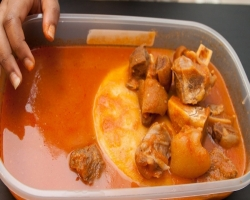 Ghanaian Food: How to Prepare Fufu and Light Soup (Details)