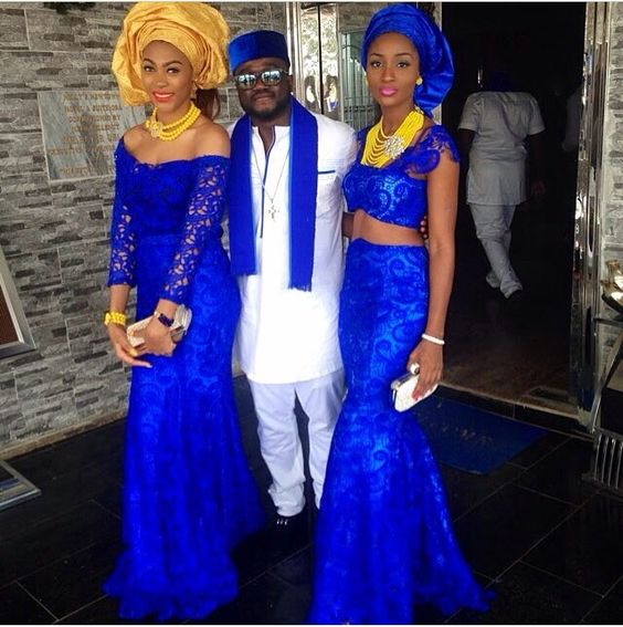 AFRICAN CELEBS Wedding FASHION 2017