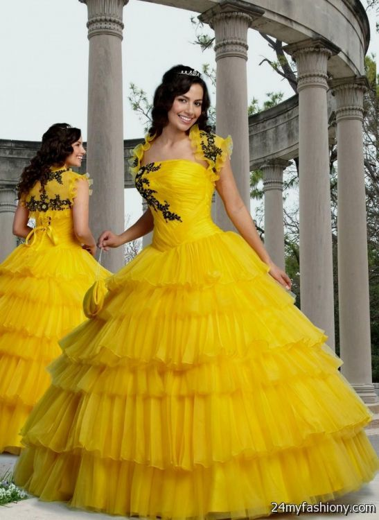 Wpid Yellow Wedding Gowns 2016 2017 0