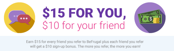Befrugal Referral Program