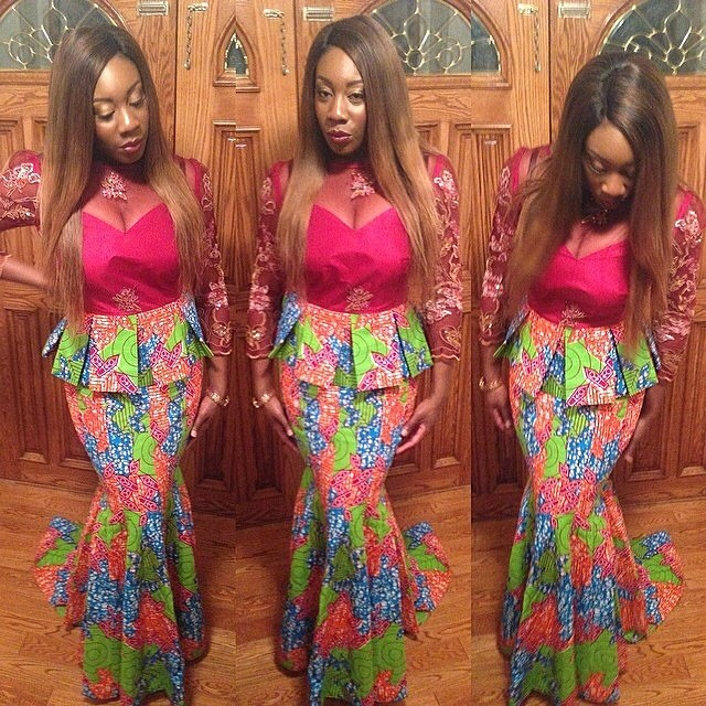 Latest Ankara Styles For Traditional Wedding (13)