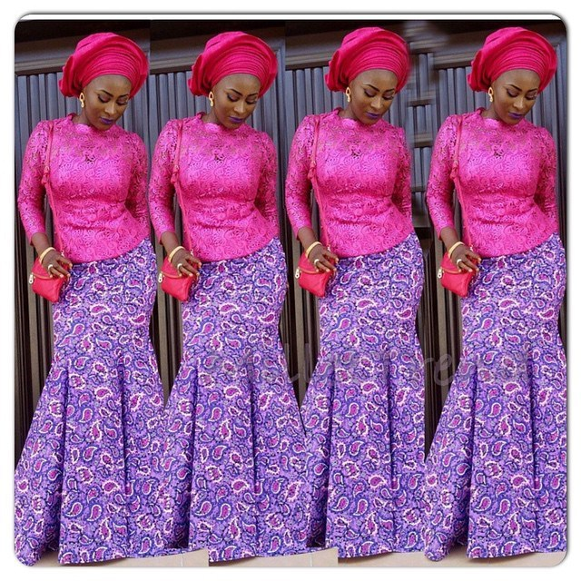 Latest Ankara Styles For Traditional Wedding (14)