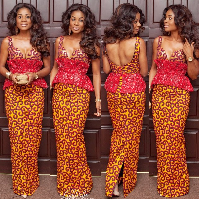 Latest Ankara Styles For Traditional Wedding (5)