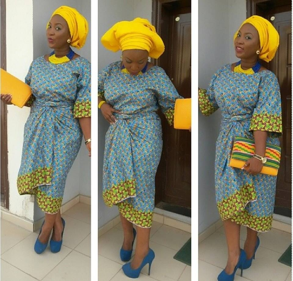 Latest Ankara Styles For Traditional Wedding (7)