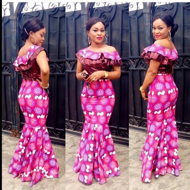 Latest Ankara Styles For Traditional Wedding (8)