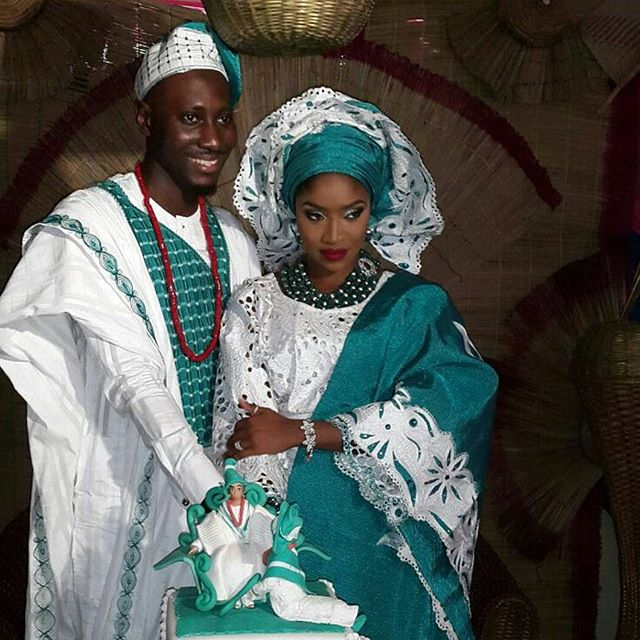 1221 Yoruba Traditional Wedding Attire In 2017 Seekers