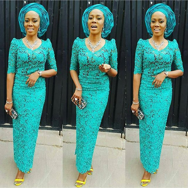 Aso Ebi Styles 2016 Lace Styles For Wedding Guest