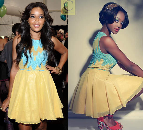 African Celebrities Dresses Styles