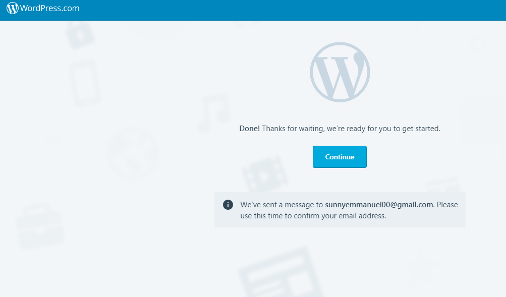 Wordpress Thanks