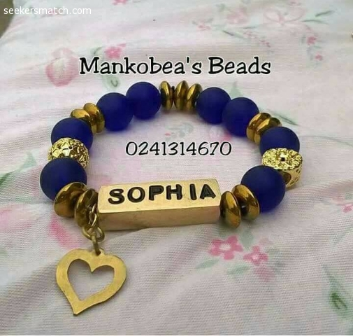 Customized Bracelets Bags Necklace And Waist Beads 72 1