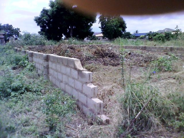 Fenced Half Plot Of Land At Ashaley Botwe Zoomlion Accra 79 1