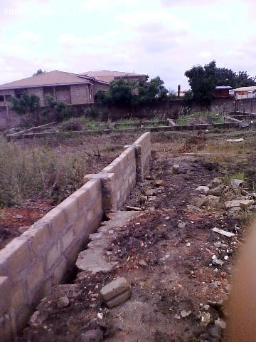 Fenced Half Plot Of Land At Ashaley Botwe Zoomlion Accra 79 3