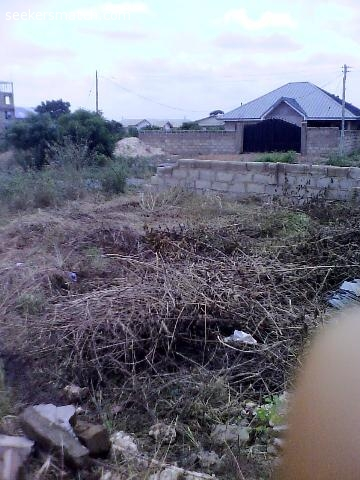 Fenced Half Plot Of Land At Ashaley Botwe Zoomlion Accra 79 4