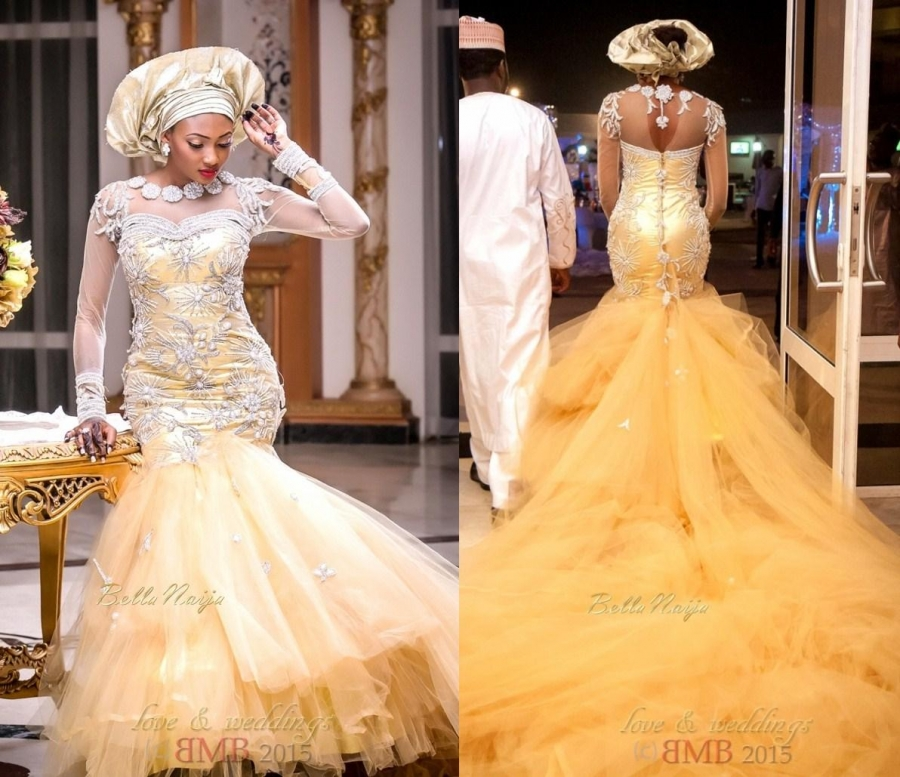 421+ Best Photos of wedding gowns in Nigeria in 2017 - Seekers Match