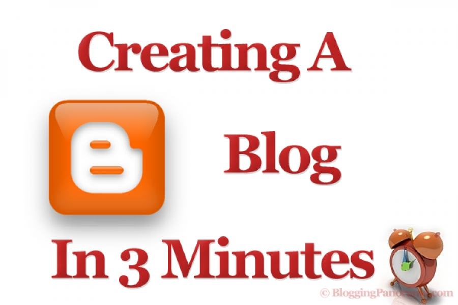 create a blog online free