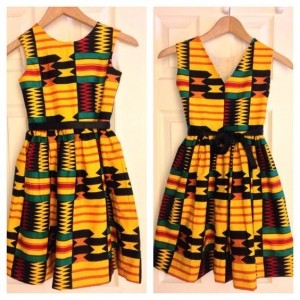 Latest of Girl Kids Styling with African Ankara (PHOTOS)