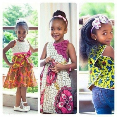 Girl Kids Best Styles with African Ankara (WATCH PHOTOS)