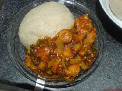 How to prepare Ghanaian Banku and okro stew