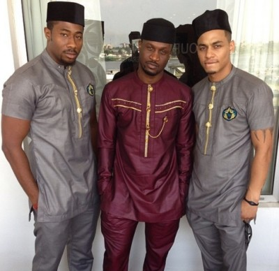 Trending Fashion for Men with African Print (MORE PHOTOS)