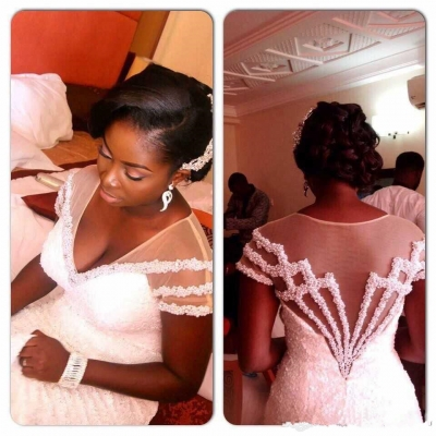 821+ Nigerian white wedding pictures and styles for 2017