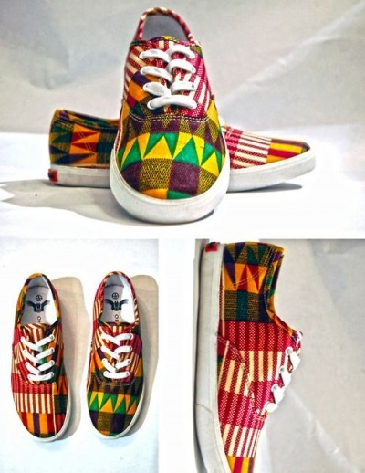 Fashion on shoes and bags made with African Ankara (PHOTOS)