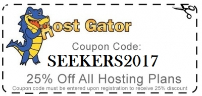 Get Your Hostgator Coupon - 25% Off & $0.01 Webhosting