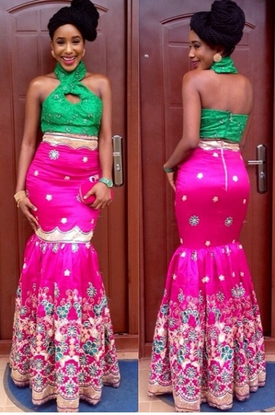 Latest African Fashion with Lace: V2