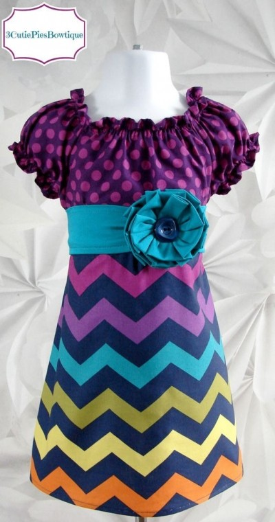Trending Fashion for Girl Kids with African Print (PHOTOS)