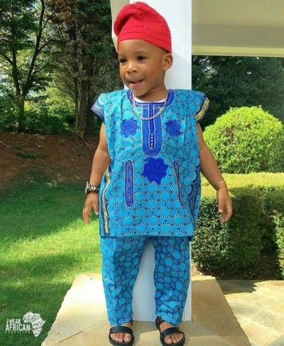 Kids Best styles on African Print (PHOTOS)