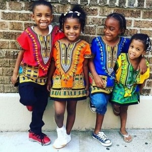 Amazing Styles for Girl Kids with African Print/Ankara (PHOTOS)