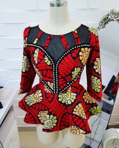 Amazing Female styles on African Print / Ankara (PHOTOS)