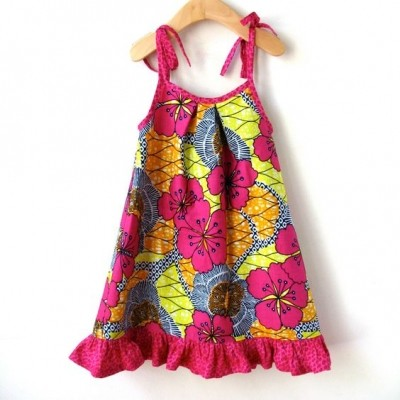 Current Fashion for Girl Kids with African Print/Ankara (PHOTOS)